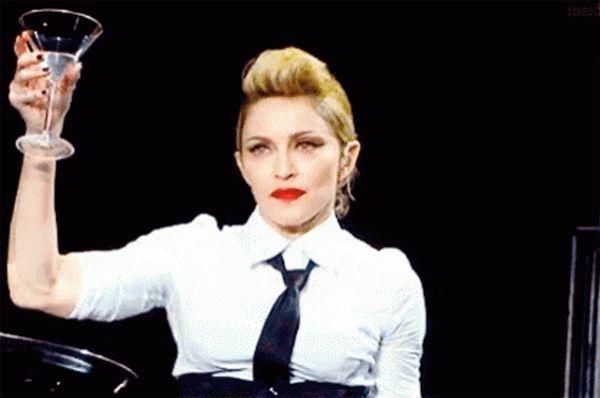 Madonna sidiyini içdiyini etiraf etdi