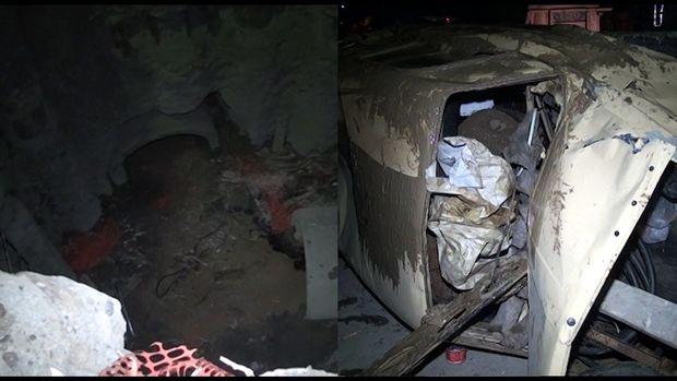Gəncədə avtomobil doqquz metrlik quyuya düşdü, bir nəfər öldü - VİDEO