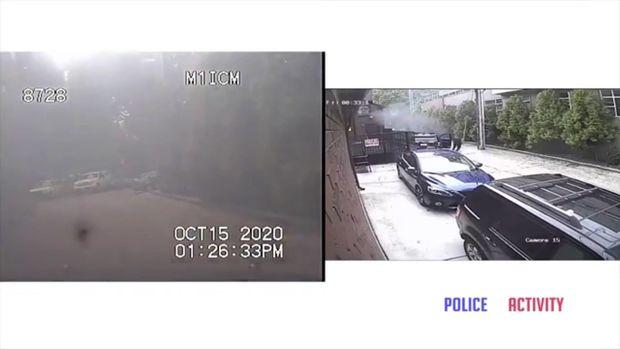 ABŞ-da polis əməkdaşını yandırmaq istədilər – VİDEO