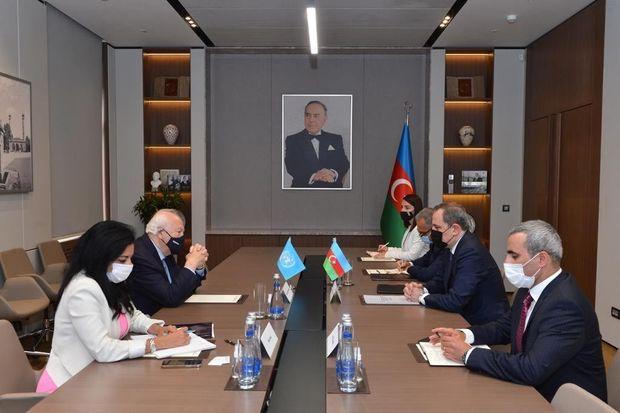 Ceyhun Bayramov Migel Angel Moratinos ilə görüşüb – FOTO