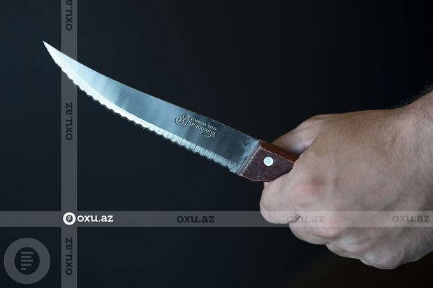 Bakıda iki qardaş bıçaqlanıb, onlardan biri ölüb
