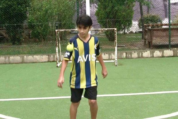 Türkiyədə 12 yaşlı oğlan Messinin rekordunu qırdı