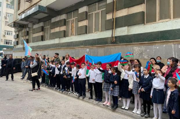 Vətən Müharibəsi şəhidi Mahmudov Tamerlan Fuad oğlunun anım günü qeyd olunub - FOTO