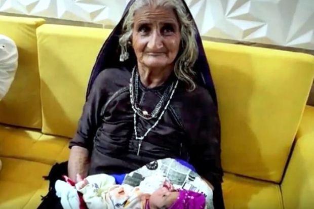 Hindistanda 70 yaşlı qadın ilk dəfə ana oldu
